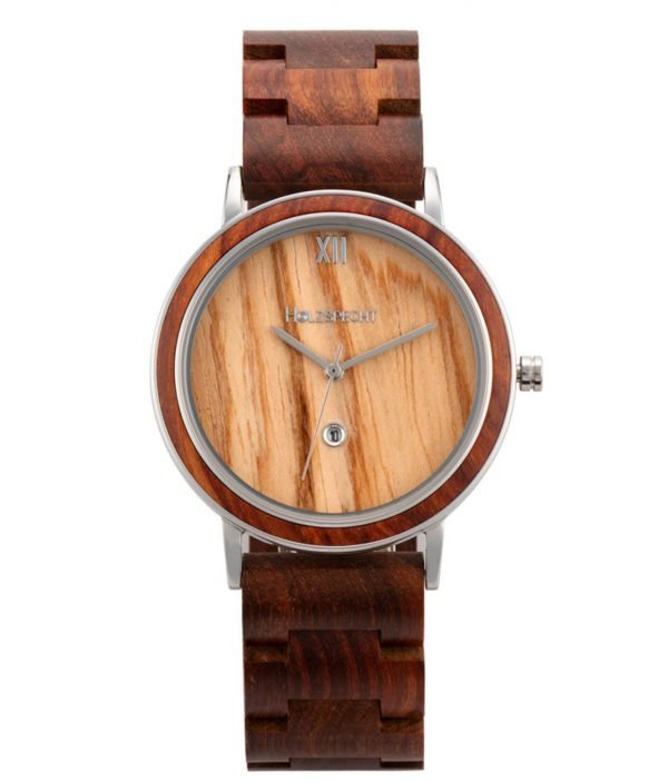 Holzspecht wristwatch out of wood Feuerkogel