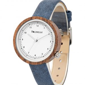 Holzspecht Wooden Watch Frühlingsstern Walnut