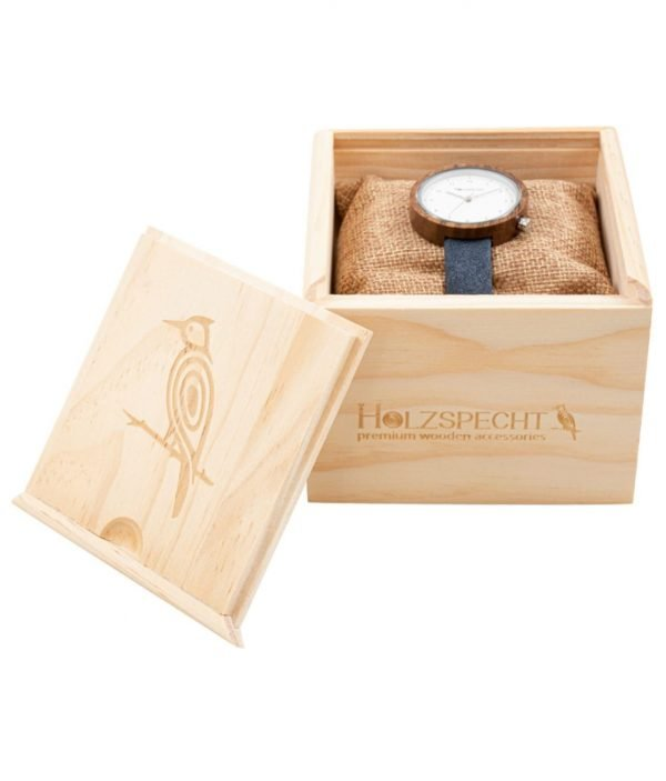 Wooden Watch Frühlingsstern Walnut