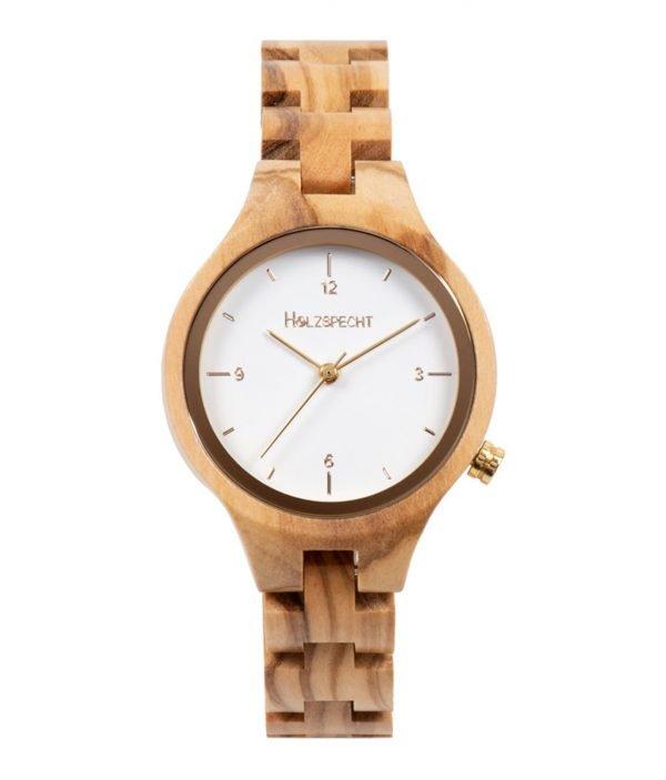 Wooden Watch Waldgoldstern Olive