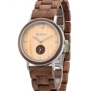 Holzspecht Armbanduhr aus Holz Karwendel