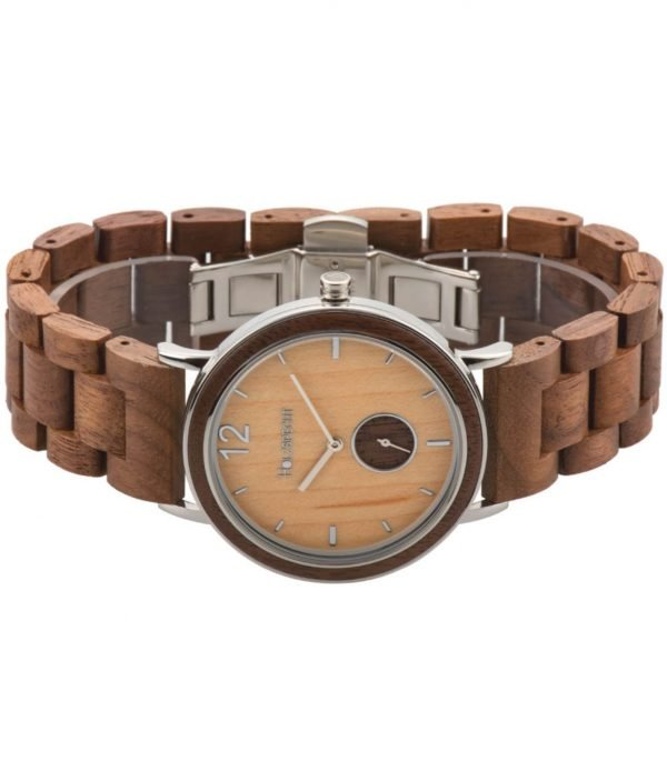 Armbanduhr aus Holz Karwendel