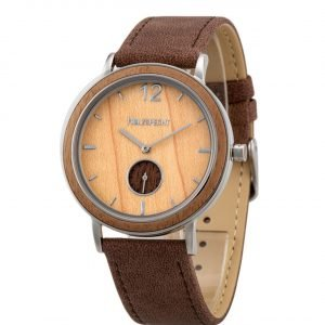 Holzspecht Wristwatch Karwendel - Wood and Vegan Leather