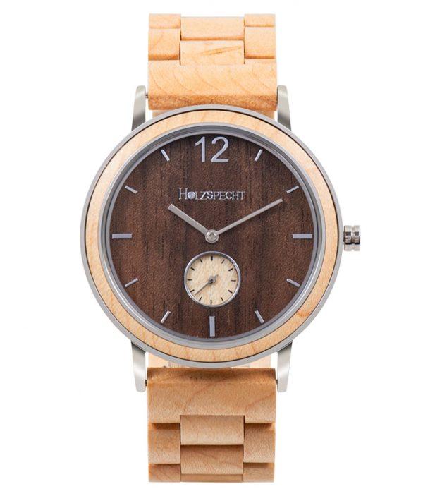 Holzspecht wooden wristwatch