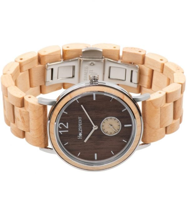 Holzspecht wood watch for women and men