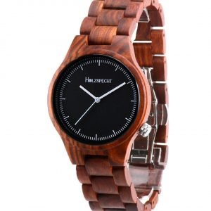 Holzspecht wood watch Dachstein Red Sandalwood