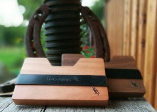 Geldbörse aus Holz