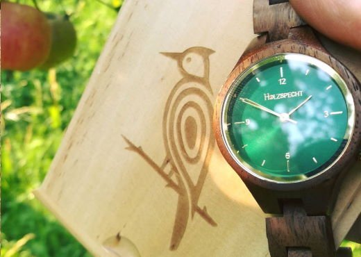 Wood Watch Waldgoldstern Walnut