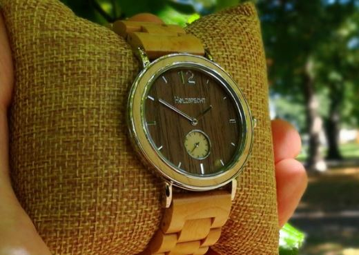 Wooden Wristwatch Karwendel