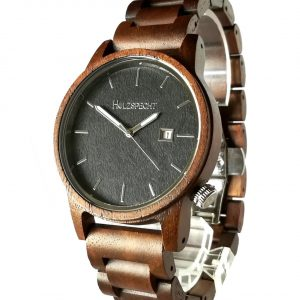 Holzspecht Wood Watch Wildensteiner Walnut Ebony