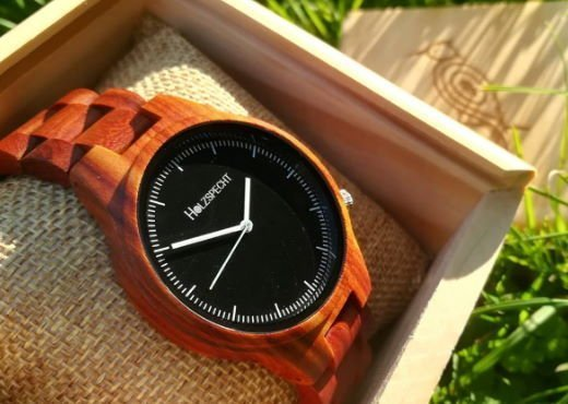 Wood Watch Dachstein Red Sandalwood