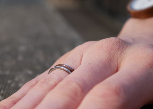 Ring with Wood