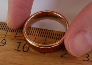 Determine ring size