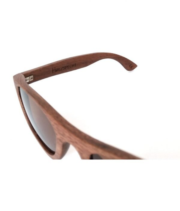 Holzspecht Sonnenbrille Weitblick Walnuss