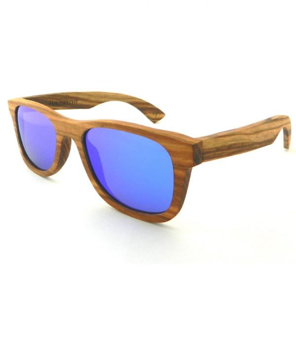 Sunglasses out of Wood Weitblick Zebra Wood