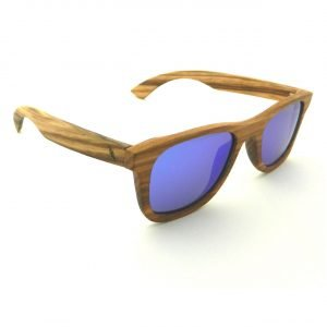 Wooden Sunglasses Weitblick Zebra Wood