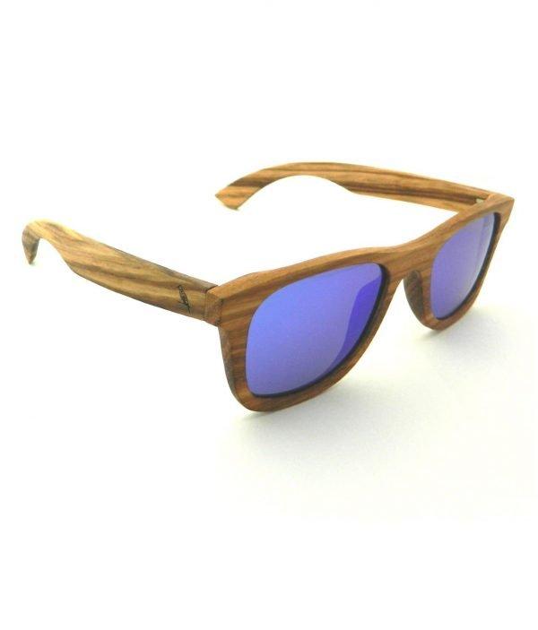 Holzsonnenbrille Weitblick Zebrano