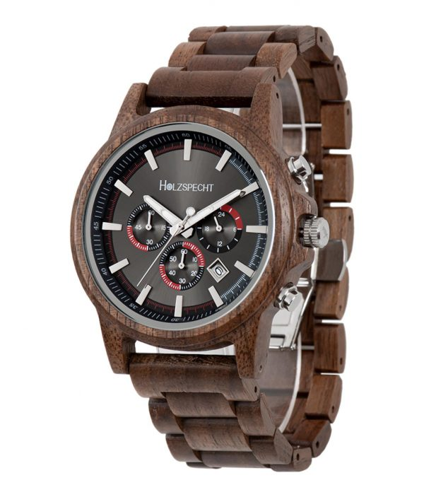 Holzspecht Wood Watch Wilder Kaiser Walnut