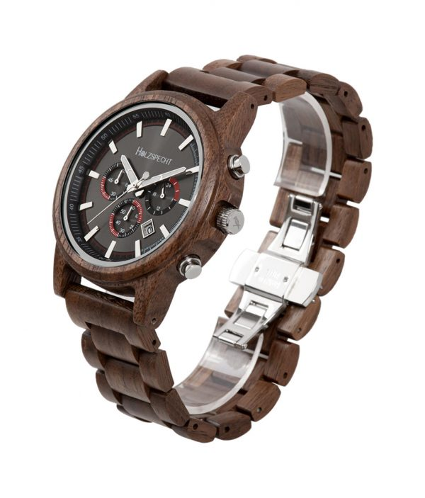 Holzspecht Wood Watch Wilder Kaiser Zebra Wood