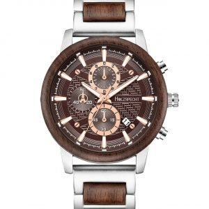 Holzspecht Wooden Watch for Men Eisenhut