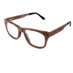 Optical wooden glasses Augenblick walnut