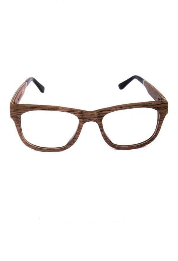 Optical glasses made of walnut wood Augenblick