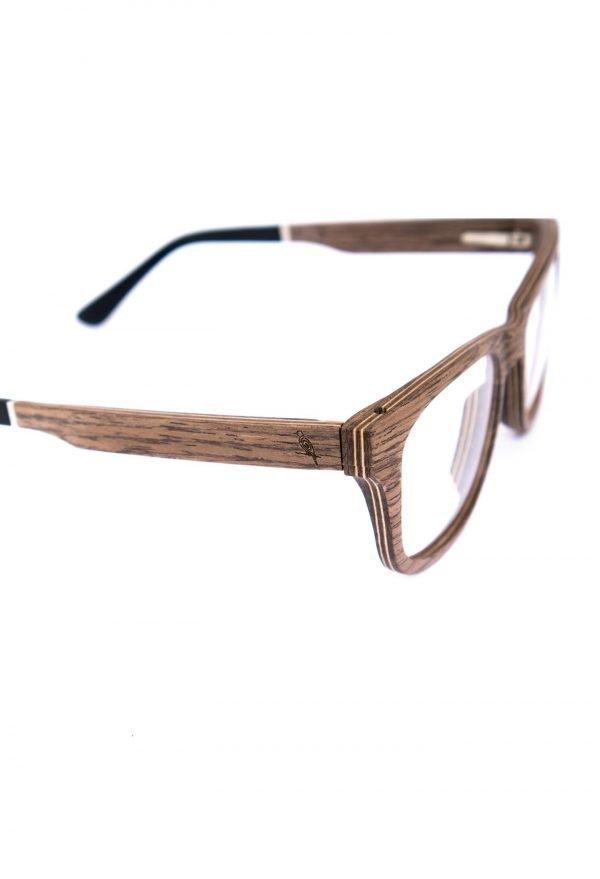 Optical wooden glasses Augenblick walnut