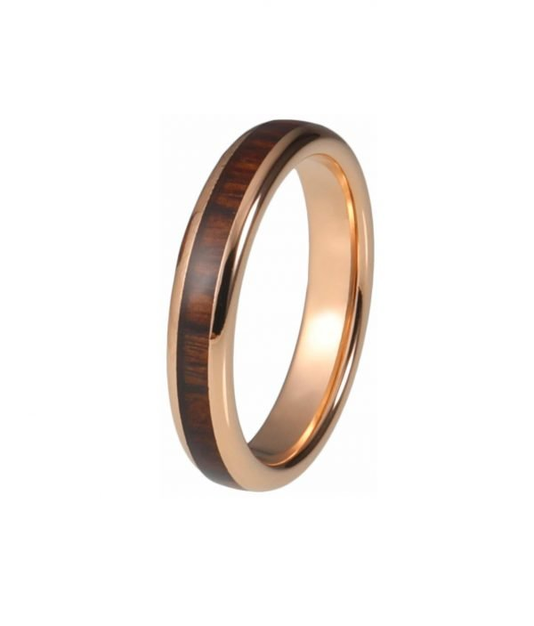 Holzspecht Ring with Wood Rose color