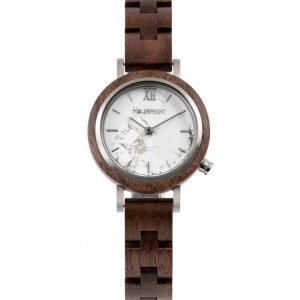 Holzspecht Wood Watch Hochglück Walnut and Marble