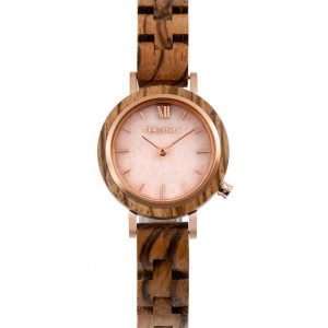 Holzspecht Wristwatch from Wood and Stone