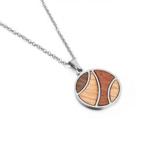 Holzspecht Halskette aus Holz